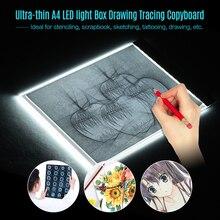 Ultrathin Dimmable LED Light box Tablet Pad EU AU US USB Plug Diamond Embroidery Diamond Painting