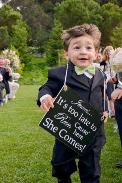 На заказ детей свадебный костюм для мальчиков детей ну вечеринку костюмы для мальчика смокинг для детей костюм гарсон залить Mariage