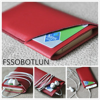 Luxury Microfiber Leather Sleeve Pouch Phone Bag Cover For Xiaomi Mi 5s Plus Redmi Note 4