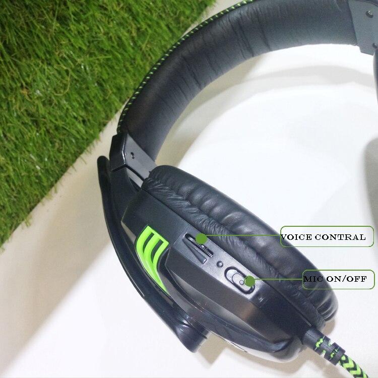 Fone De Ouvido Com Fio Estéreo Microfone Gamer Salar
