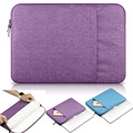 """Simple Style Notebook Sleeve Protector For Macbook 11"""" 12"""" 13"""" 15"""" Air / Pro Notebook Carry Nylon Laptop Liner Sleeve Bag Case"""