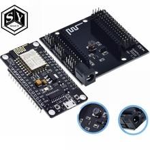 Ótimo it nodemcu node mcu base, esp8266 ESP-12E teste diy placa de ensaio, bases, testador adequado para nodemcu v3 para arduino ide