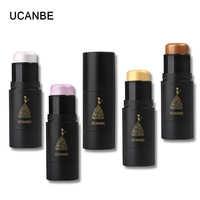 UCANBE Marke Highlighter Contour Bronzer Make-Up-Stick 3D Gesicht Schimmer Matte Creamy Erhellen Hervorhebung Haut Concealer Kosmetik