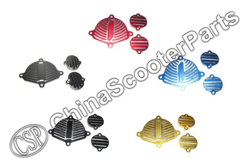 CNC ENGINE DRESS UP KIT GPX ZhongShen YinXiang 155 YX 150 160 150CC 160CC  PIT DIRT BIKE Cylinder Head Parts