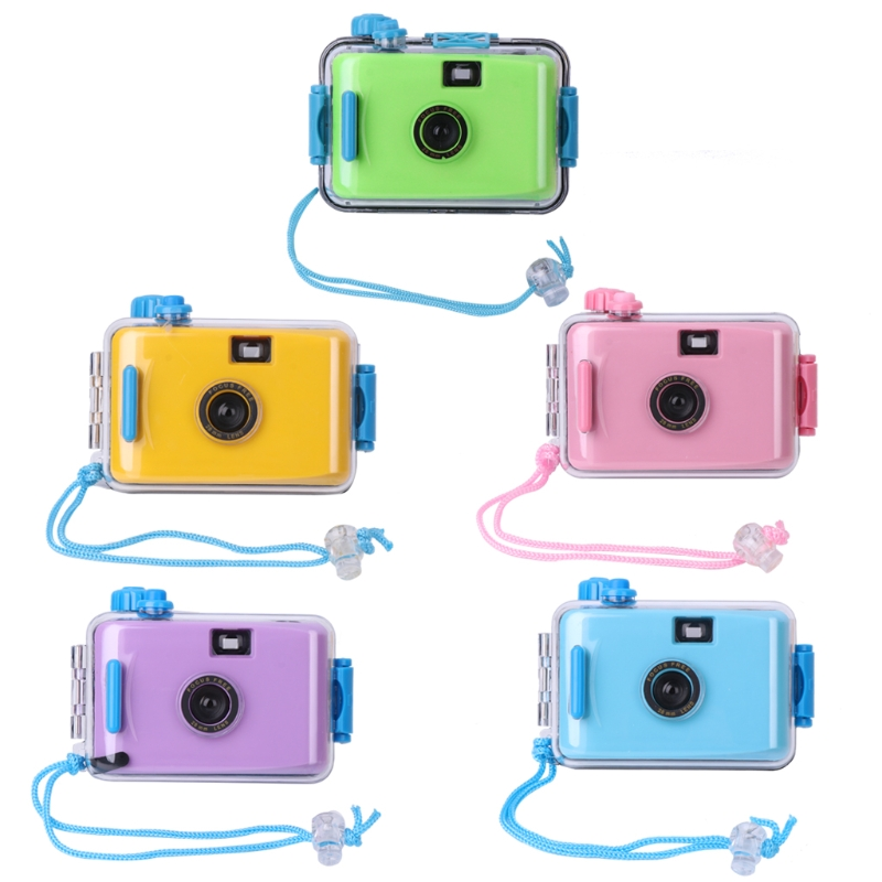 OOTDTY Lomo Underwater Waterproof Camera Mini Cute 35mm Film With Housing Case New image
