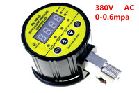 HC Y810 380VAC 0 0.6MPA digital display electric contact switch digital pressure gauge pressure controller