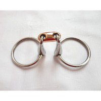 Stainless Steel Ring Snaffle Bit Horse Product H0829