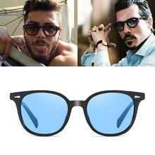 Vintage Johnny Depp Lemtosh Style Round Sunglasses Rivet Tin