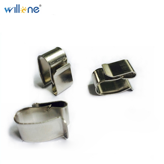 Willone 500pcs free shipping PV solar stainless steel cable clips SUS304