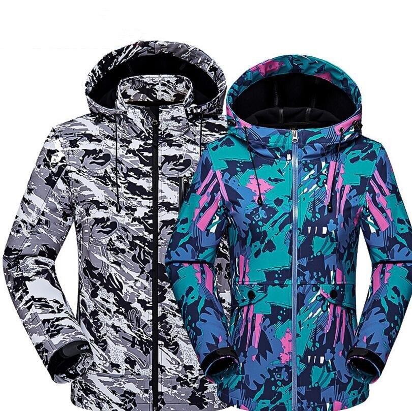 DICHSKI nouveau 2019 hommes femmes vestes d'extérieur coupe-vent imperméable coupe-vent Camping randonnée veste manteau pour hommes vestes de sport