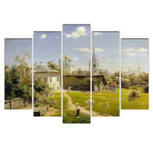 Modular Canvas Painting Wall Art Pictures Moscow Vasily Polenov Moscow Home Decor Wall Poster Decoration For Living Room Abooly