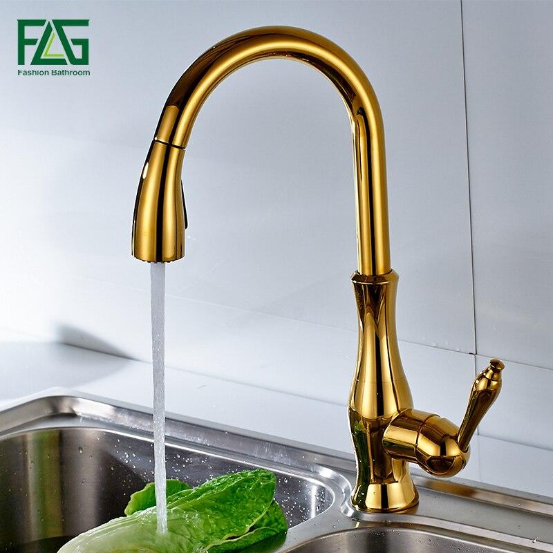 Роскошный латунный смелый отделочный кран для ванной комнаты золотистого цвета с лебедем в форме шеи, водопроводный кран на бортике с одним