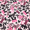 140X100cm Mickey Minnie Mouse Peace Symbol Cotton Fabric Baby Boy Girls Clothes Sewing Bedding Set Hometextile