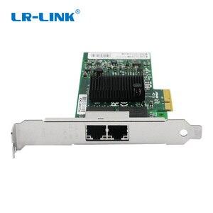 Image 4 - LR LINK 9722PT Dual Port Gigabit Ethernet Network Adapter 1Gb RJ45 PCI Express Lan Network Card Intel I350 T2 Compatible NIC