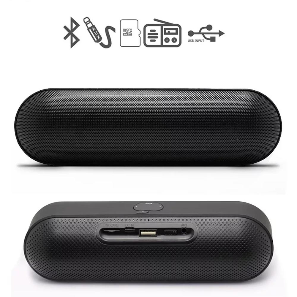 Wireless Bluetooth Speaker Portable HIFI 3D Stereo Speakers Sound Box FM TF AUX With Mic For Phone Laptop PC Handsfree