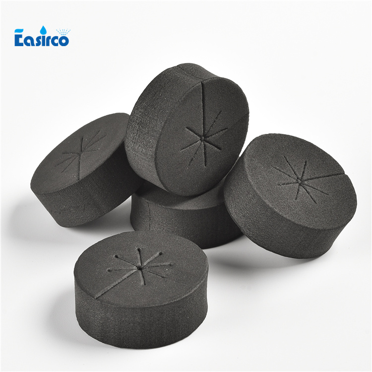 5CM Black Neoprene collars for hydroponics system.(30pcs/pack)