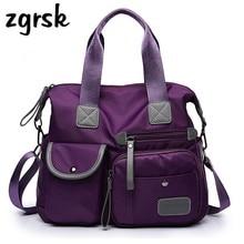 Brand Waterproof Oxford Women Luxury Handbags Designer Big Capacity Shoulder Bag High Quality Ladies Hand Bags Handbag
