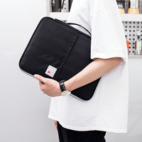 Office A4 File Briefcase Document Storage Bag Multi function Business Bag