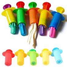 Цветные Игрушки для игры в тесто, Креативные 3D инструменты для пластилина, пластилиновые формы, подарочный набор, обучающие и обучающие игрушки