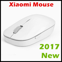 2017 New Original Xiaomi Mouse WSB01TM Portable Wireless Optical 2 4GHz Mi Mouse One Key Backwards