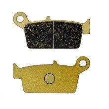 For HONDA XLR 250 XLR250 MD22 91- XR 250 XR250 90-04 XR 250 3/5 (MD30) Motard 03-05 XR 300 R10 10 Motorcycle Brake Pads Rear
