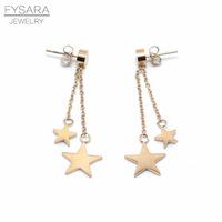 FYSARA-Cute-Doube-Link-Stars-Earrings-For-Women-Jewelry-Titanium-Steel-Rose-Gold-Color-Drop-Earrings.jpg_200x200