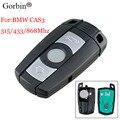 Пульт дистанционного управления GORBIN, 3 кнопки, для BMW CAS3 315/433 МГц 1/3/868 серии X5 X6 Z4 для BMW Cas3 KR55WK49127