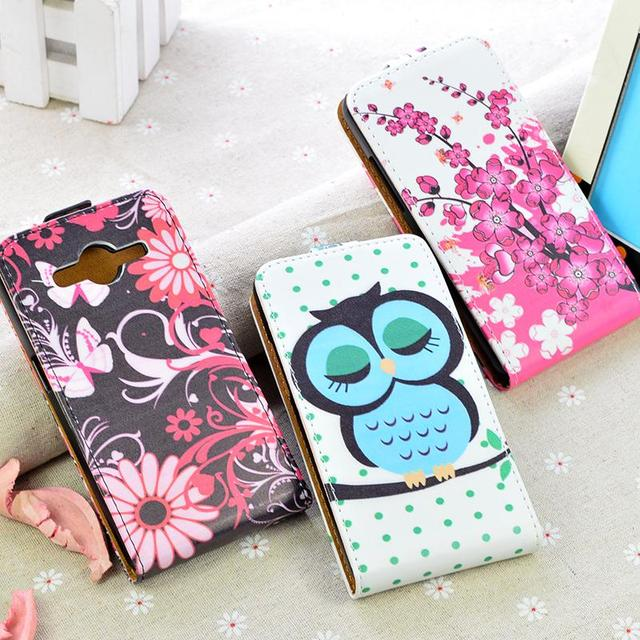Flip Leather case For Samsung Galaxy Core G355H SM-G355H J1 2016 SM-J120F J1 Mini  i9300 j5 j3 A5 S6/A3 2016 Phone Cover Bags