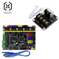 3D Printer Parts MKS Gen V1 4 Motherboard 3D Printer Control Board With USB  Mega 2560 Ramps 1 4 Motherboard with Power Cable