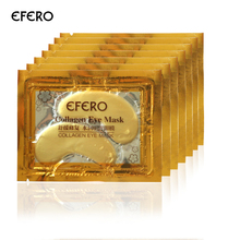 5Packs Gold Eye Mask Moisturizing Eye Patches Sheet Beauty Gold Crystal Collagen Eye Mask Patches for the Eyes Care Gold Mask