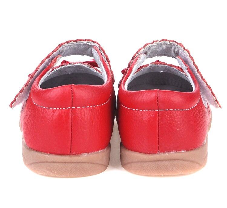 Для маленьких девочек Кожаные Туфли Мэри Джейн с Сердце вырезы и бабочки белый розовый и красный в розницу и оптом и