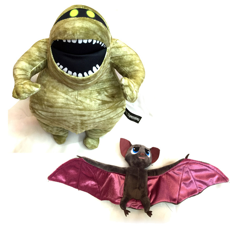 30-48cm Hotel Transylvania 2 Bat Mummy Bag Accessory Plush Soft Doll Animal Stuffed Toy For Baby Kids Birthday Gifts Wholesale