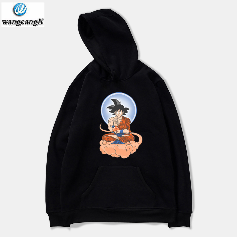 Dragon Ball Z hoodies men/women Dragonball Goku casual harajuku hoodie sweatshirt pullover fashion anime Jacket coat clothes