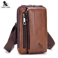 Для мужчин поясная сумка из натуральной кожи Маленькая сумка через плечо сумка Fanny Pack Ремень Сумочка для телефона, монет чехол с креплением