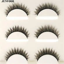 Eyelash Extension 15 Pairs Handmade 3D Mink Hair Beauty Thick Long False Mink Eyelashes Fake Eye Lashes Eyelash High Quality