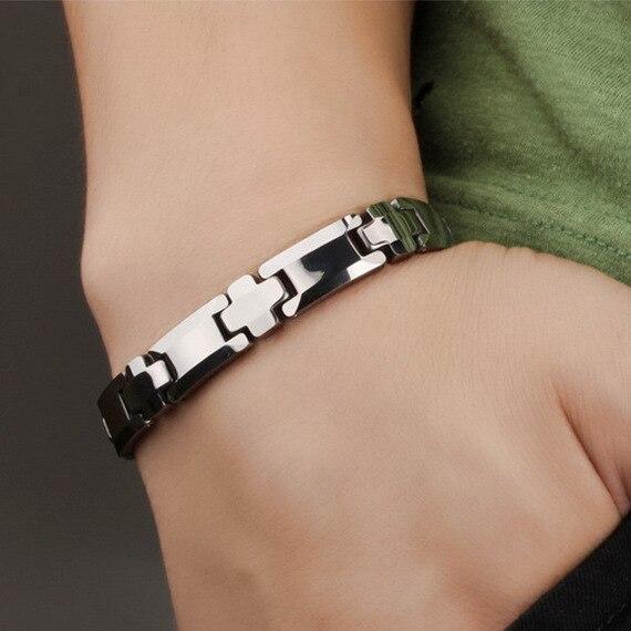 Bracelet magnétique en cuivre pour hommes Bracelets et Bracelets énergétiques Bio sains bijoux de santé de qualité supérieure Bracelets en cuivre rouge