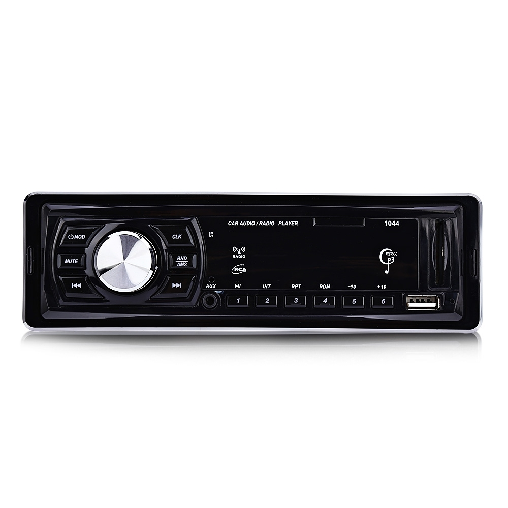 1044 Car Radio Player Stereo Audio Car MP3 Player DC 12V LED Display FM Receiver Remote Control 4 x 50W Support SD USB AUX mackie onyx producer page 2 page 1