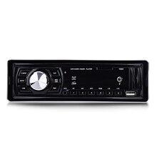 1044 автомобилей Радио игрок стерео аудио Автомобильный MP3-плеер DC 12 В LED Дисплей fm приемник Дистанционное управление 4×50 Вт Поддержка SD USB AUX
