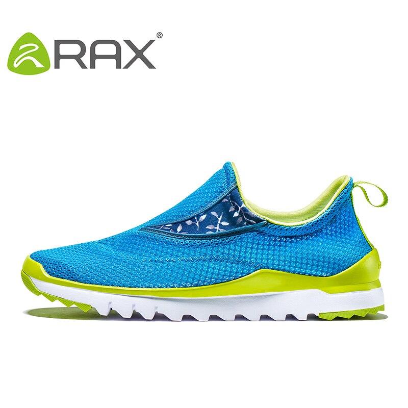 Rax Men Breathable Running Shoes Brand Running Sneakers Women Air Mesh Lightweight Trainers Men Women Outdoor Sports Shoes