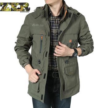 Zuoxiangru Men's Suit Autumn Jacket Men's Single Layer Thin Waterproof Windproof Jacket Long Sleeve Zipper Clothing Overcoat