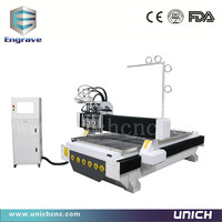 High speed 1300*2500mm model 3d cnc