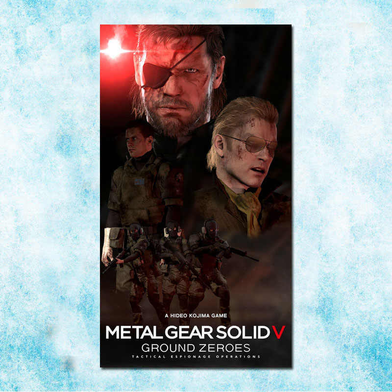 Metal Gear Solid V Hot Game Art Silk Poster Canvas Print 13x24 24x43 inch-005