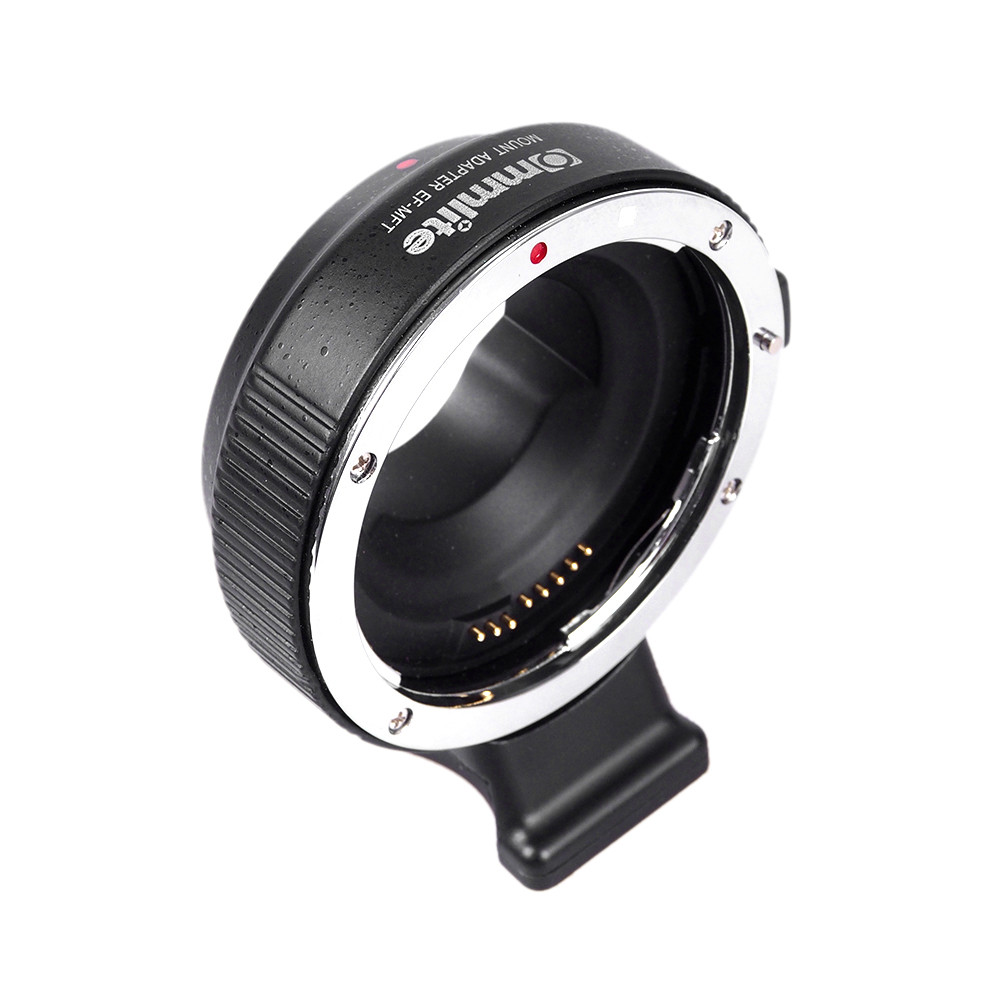 Commlite EF-MFT Electronic Aperture Control Lens Mount Adapter for Canon EF & EF-S Lens to Camera M4/3 MFT GH4 GF6 GX7 EM5 commlite cm ef mft electronic aperture control lens adapter for ef ef s lens m4 3 camera