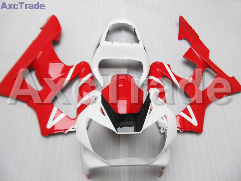 Bodywork Moto Fairings FIT For Honda CBR 929 900 RR 929RR 00 01 900 2000 2001 CBR900RR Fairing kit High Quality ABS Plastic Red