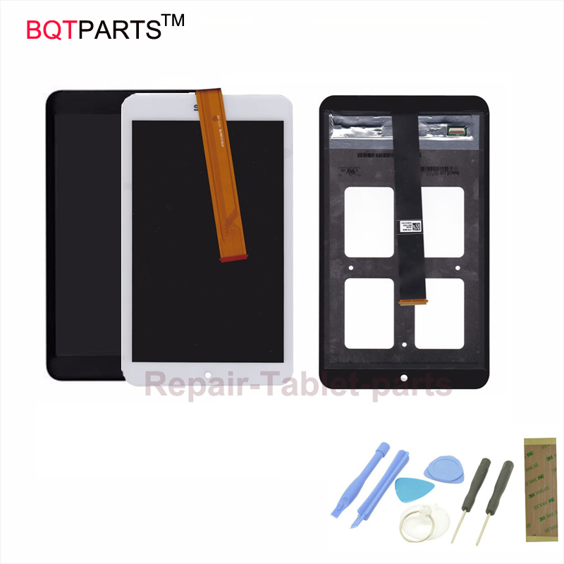 все цены на  BQTParts For Asus Memo Pad 8 ME181 ME181C Full LCD Display Panel Screen Monitor with Touch Screen Digitizer Assembly  онлайн