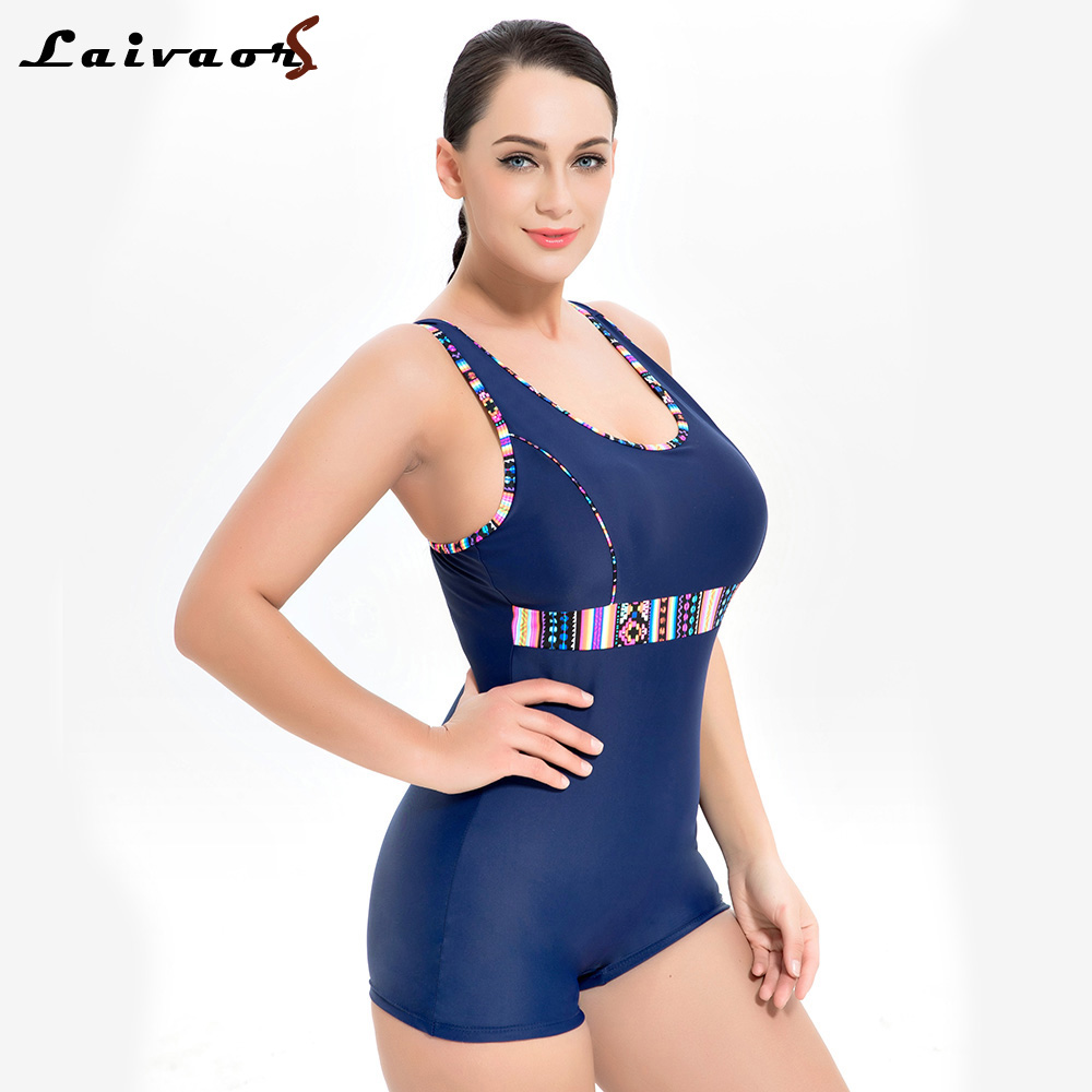 Laivaors New Swimwear Women 2018 Professional One Piece Swimsuit Female Sport Competition Swimming Suits Plus Size Bathing Suits цена