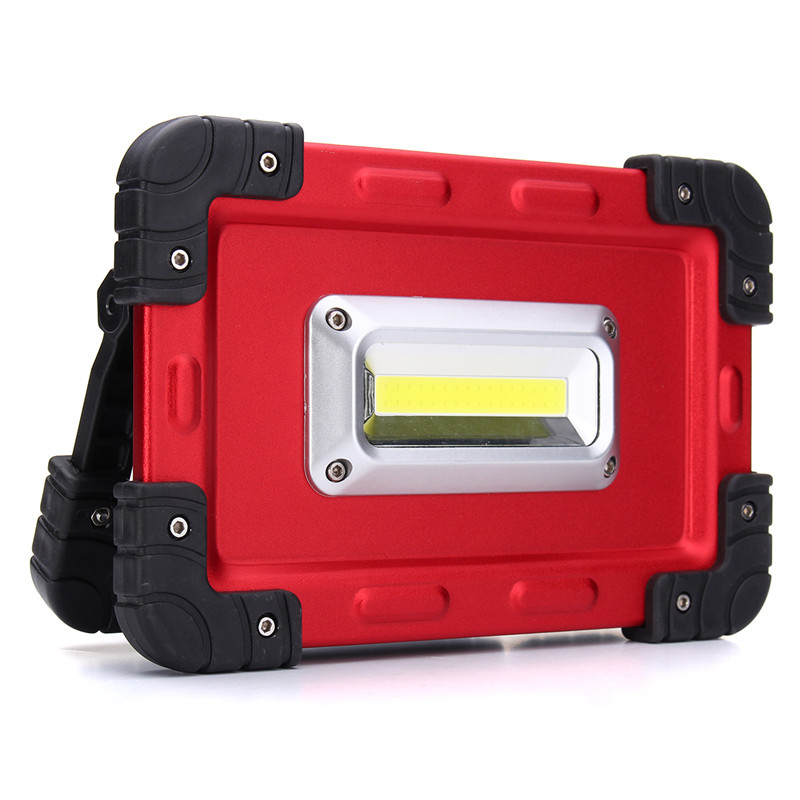 Stalwart Large 60 Led Rechargeable Work Light: Smuxi 30W USB COB 32 LED Spotlight Portable Rechargeable