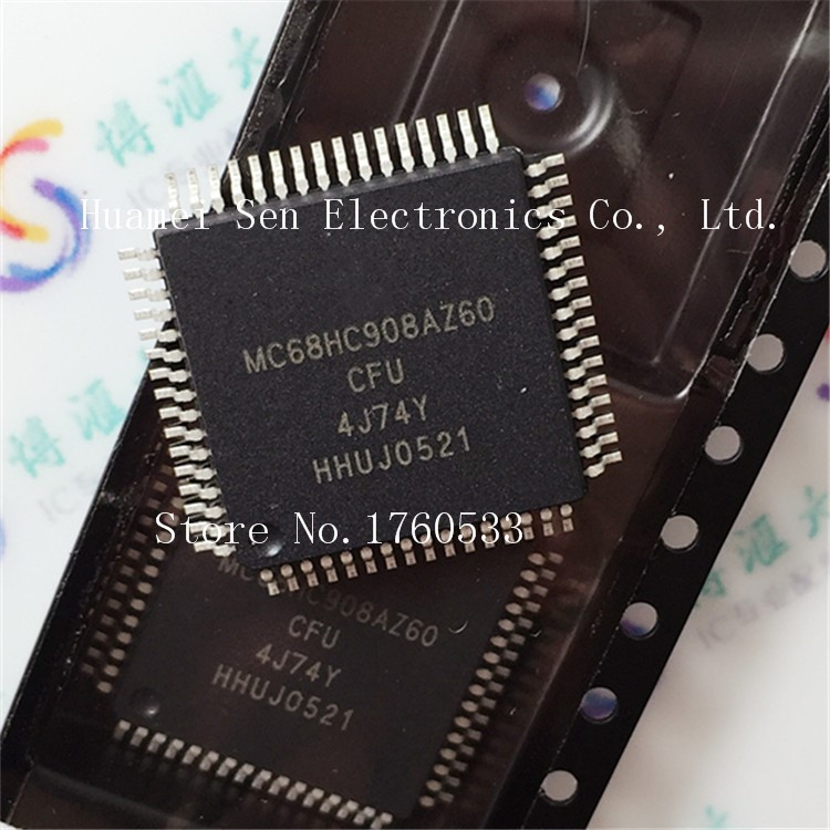 Module MC68HC908AZ60CFU 4J74Y QFP64 Original authentic and new free shipping