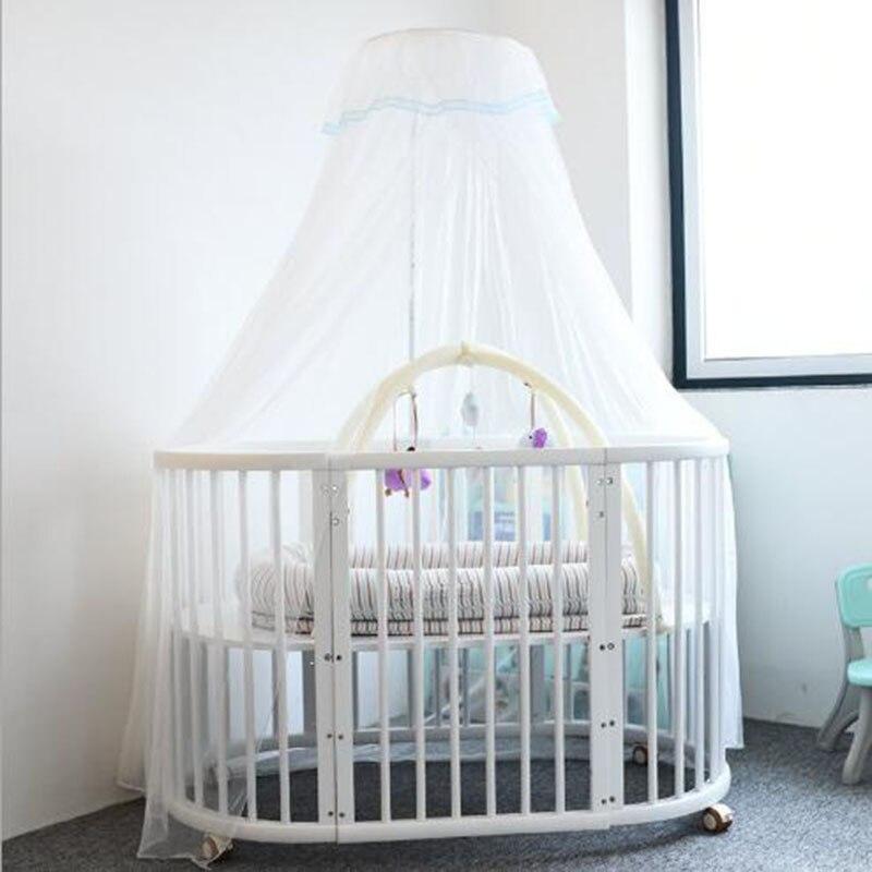 Moustiquaire pour berceau moustiquaire pliable pour bébé avec dôme court moustiquaire pour bébé
