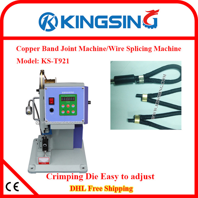 Direct Manufacturer Selling Copper Band Joint Machine/Wire Splice ...